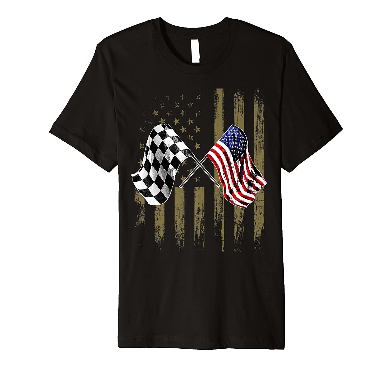 Dirt Track Racing Motocross Stock Car Racing T-Shirts Gift