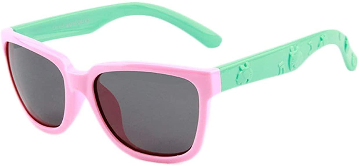 Girl's Sunglasses Outdoor Eyewear Rubber Flexible Party Eyeglasses For