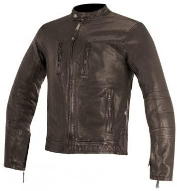 Alpinestars Brass Men's Street Motorcycle Jackets - Brown/Medium