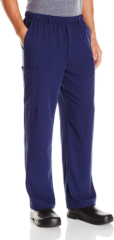 Jockey Women's Scrubs ® Men's Seven Pocket Stretch Scrub Pant, New Navy, L