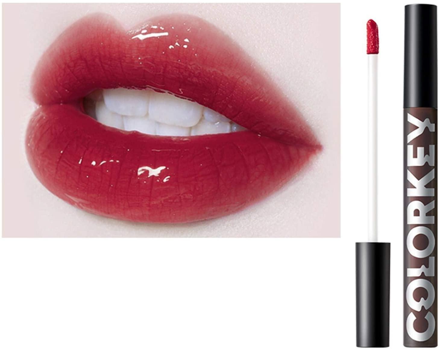 FASESH ColorKey Liquid Lipstick - 2020 Matte Velvety & Lacquer Gloss Lip Glaze - Long Lasting Waterproof, All-Day Moisturizer, Vegan Nutritious Lip Balm, Christmas Birthday Makeup Lip Color Gift