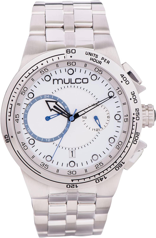 Mulco Lyon Quartz Chronograph Movement Men's Watch | Premium Analog Display Watch Band | Water Resistant Stainless Steel Watch