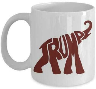 Trump Elephant Mug White Ceramic 11 Oz Coffee Mug Tea Cup Frump Mug Gift