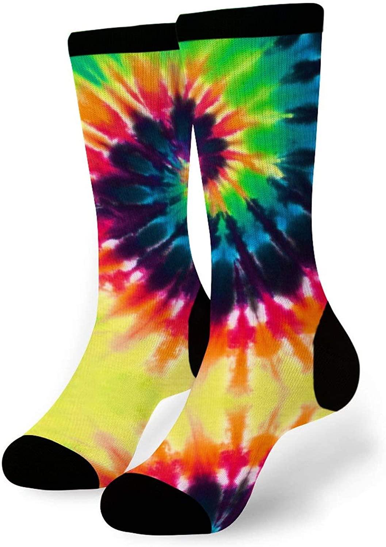 Mens & Womens Crew Socks One Pair Funny Novelty Dress Socks For Athletic Running