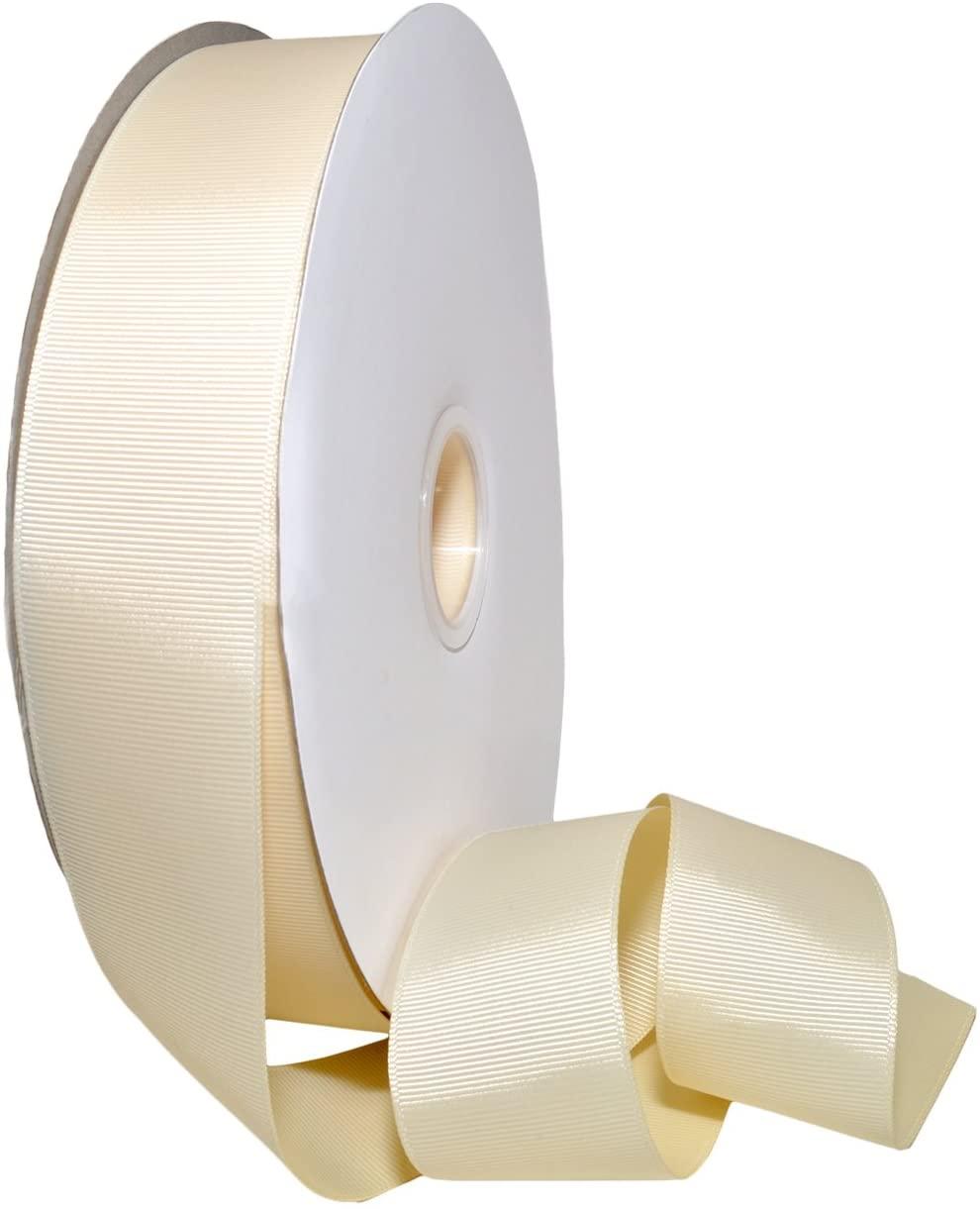 Morex Ribbon Polyester Grosgrain Ribbon, 1.5