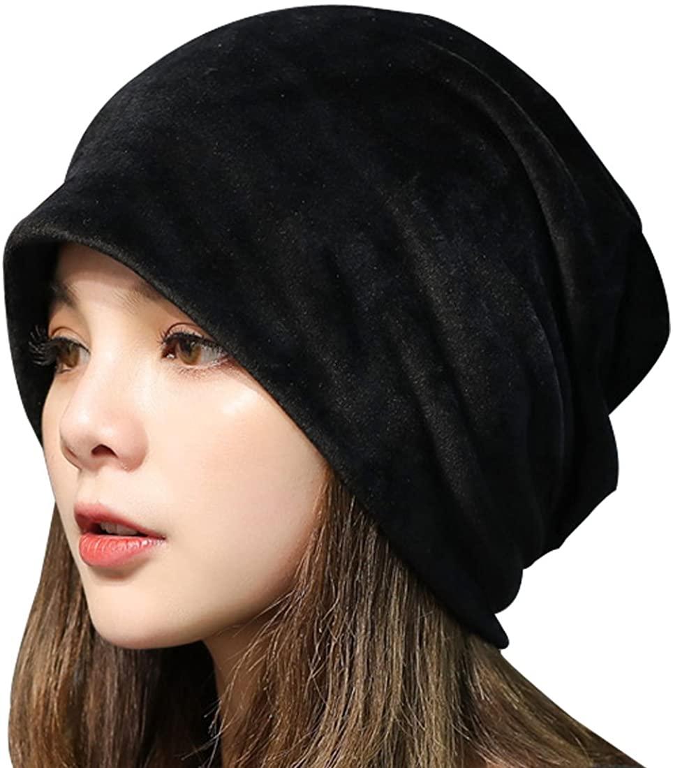Kafeimali Women Slouchy Beanie Mix Knit Skully Ski Cap Warm Winte Soft Hats