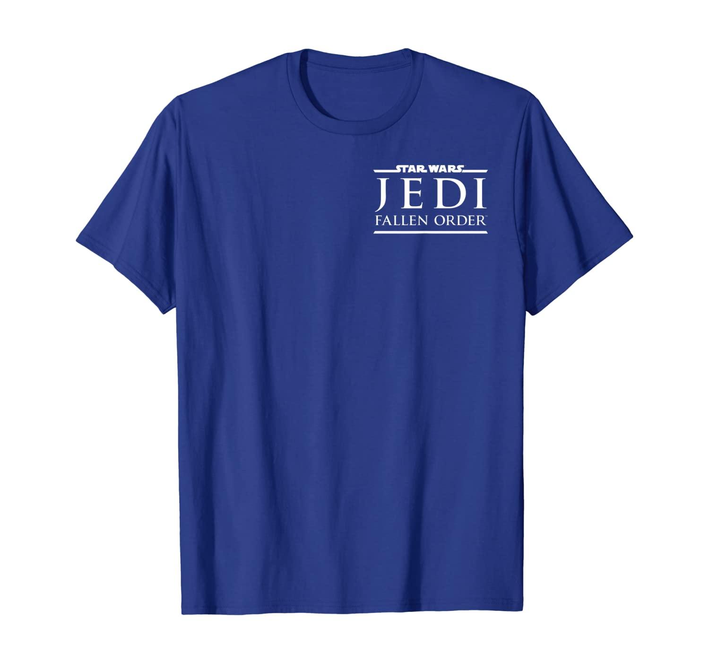 Star Wars Jedi The Fallen Order Left Chest Game Logo C3 T-Shirt