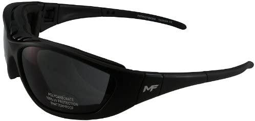 MF Patriot Goggles (Black Frame/Smoke Lens)