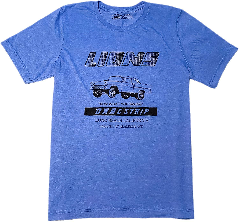 Adventure Now Clothing - Lions Drag Strip T-Shirt Long Beach California