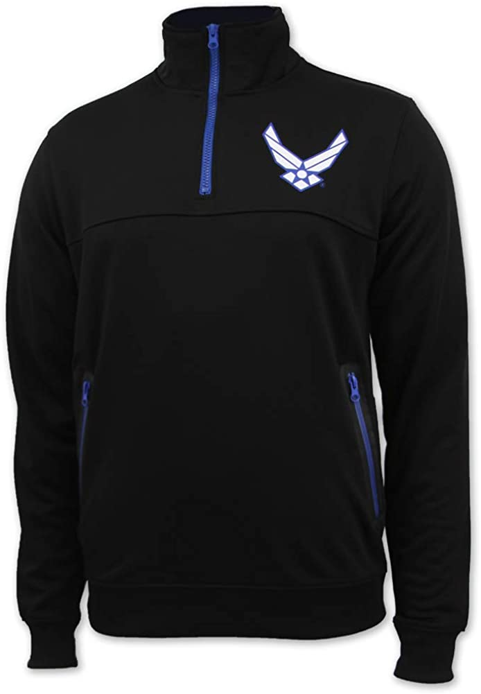 Armed Forces Gear Air Force Poly Performance 1/4 Zip