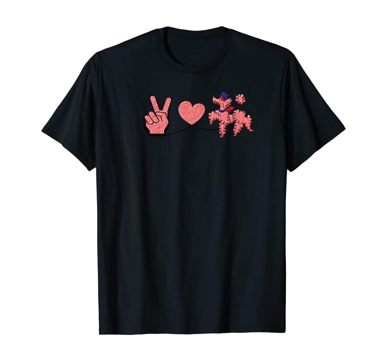 Peace Love Poodle T-Shirt