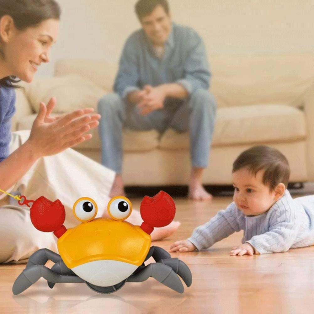 Baby Bath Toy, Swimming Crab, Floating Bathtub Pool Toys Cute Water Play Toy for Kids Boys Girls
