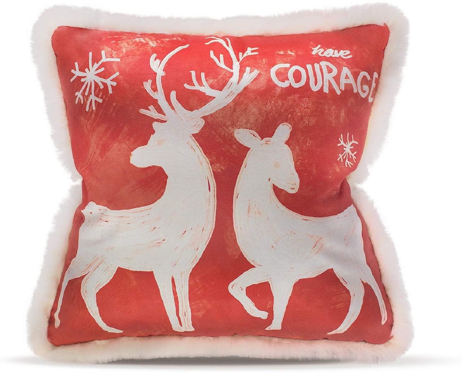 Moonsky Christmas Decorative Throw Pillow, 18