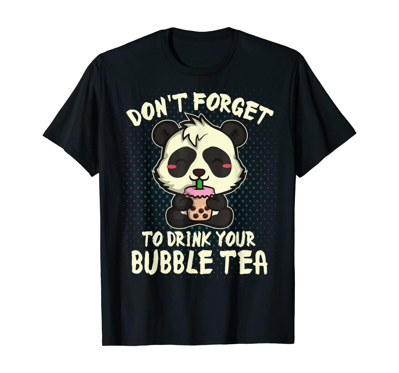 Bubble Tea Japanese Boba Shirt Otaku Anime Kawaii Gift T-Shirt