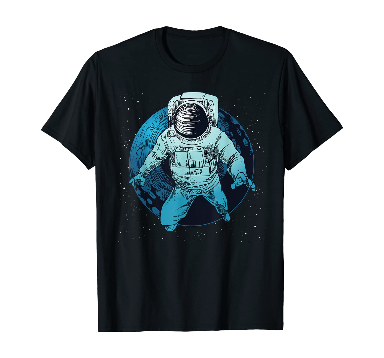 Space Astronaut Graphic Tees - Space Lost, Space Astronaut T-Shirt