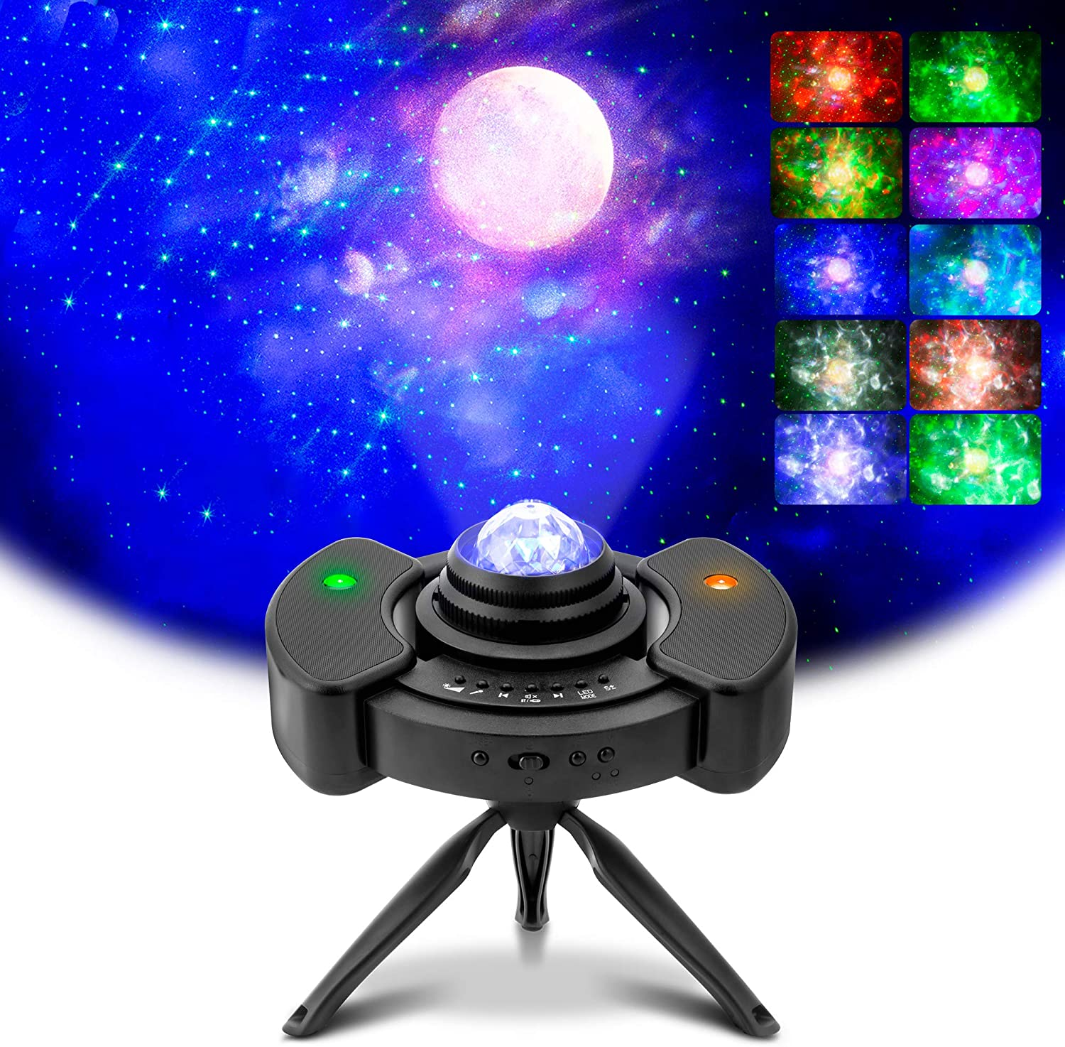 Galaxy Light Projector for Bedroom,TekHome Laser Star Projector with Bluetooth Speaker,LED Nebula Projector for Party Room Home Theater Lighting,Christmas Birthday Gifts for Kids Baby Women Men.