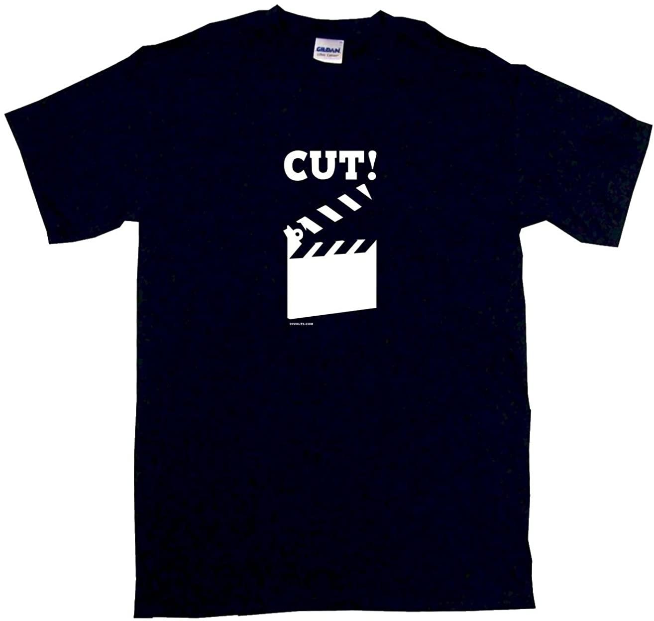 99 Volts Cut Movie Clap Board Men's Tee Shirt