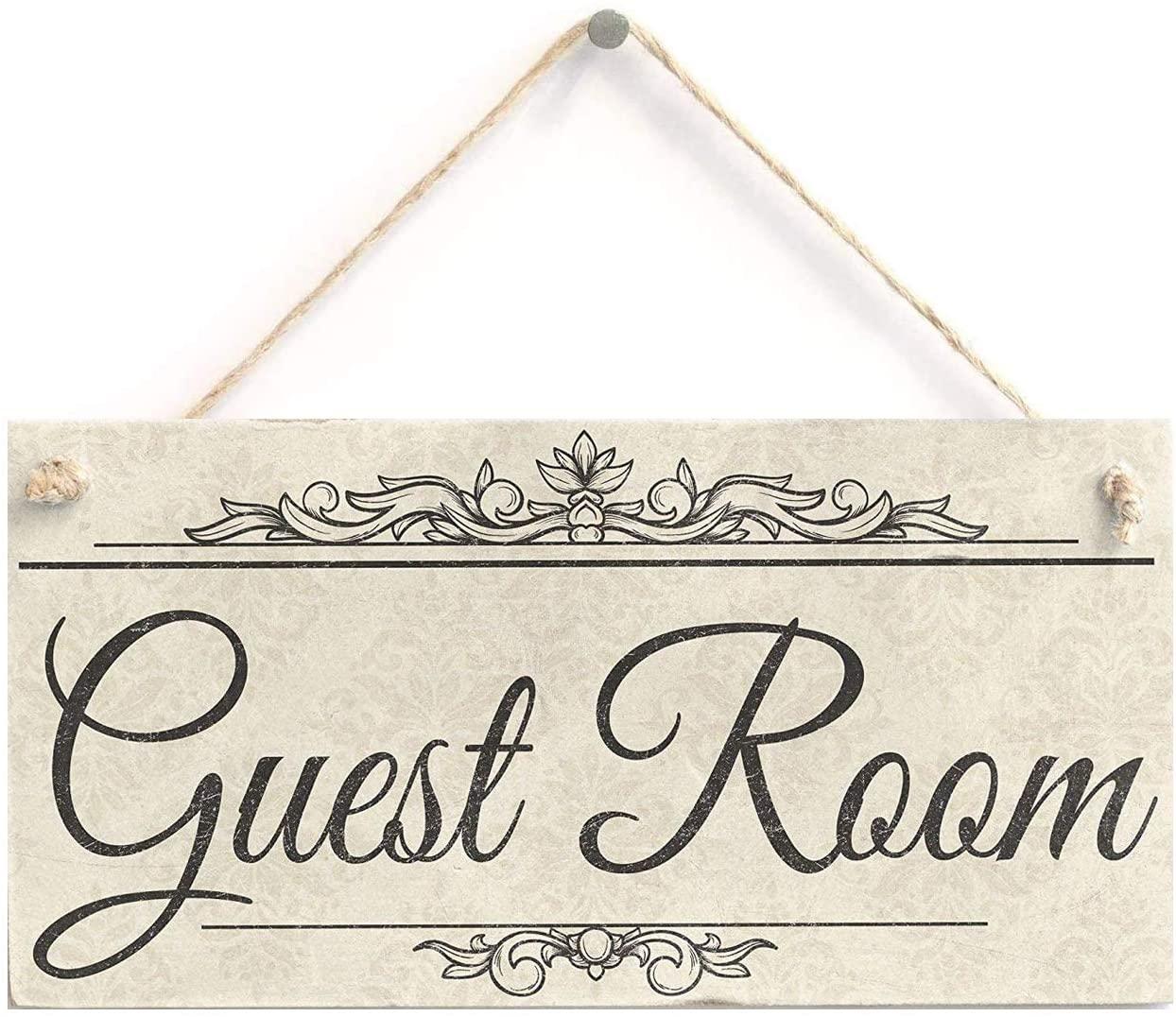 Guest Room - Rustic Sign Plaque 10