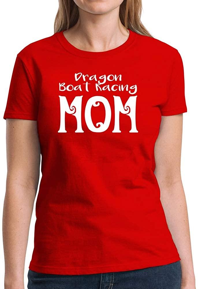 Eddany Dragon Boat Racing mom Women T-Shirt