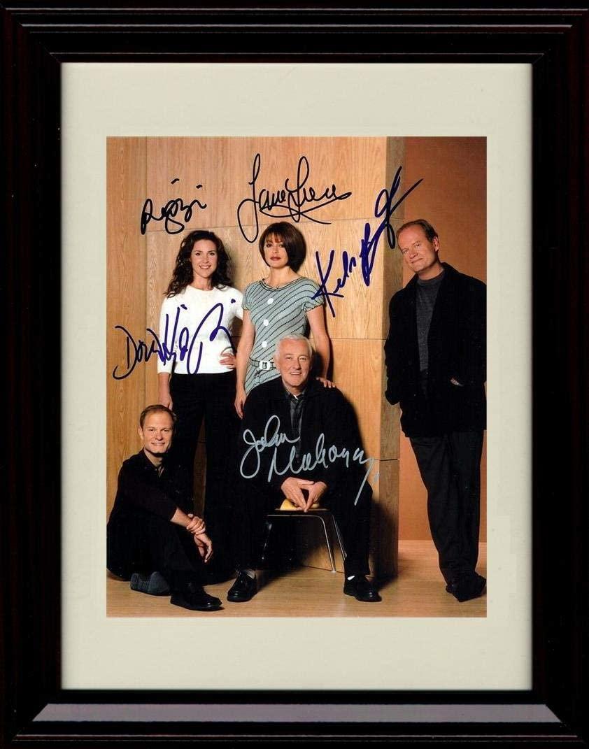 Framed Frasier Cast Autograph Replica Print - Portrait