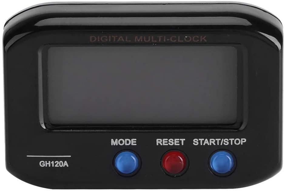 Eastbuy Projection Alarm Clock - Portable LCD Display Digital Alarm Clock Snooze with Backlight Table Desk Car Decor(Black)