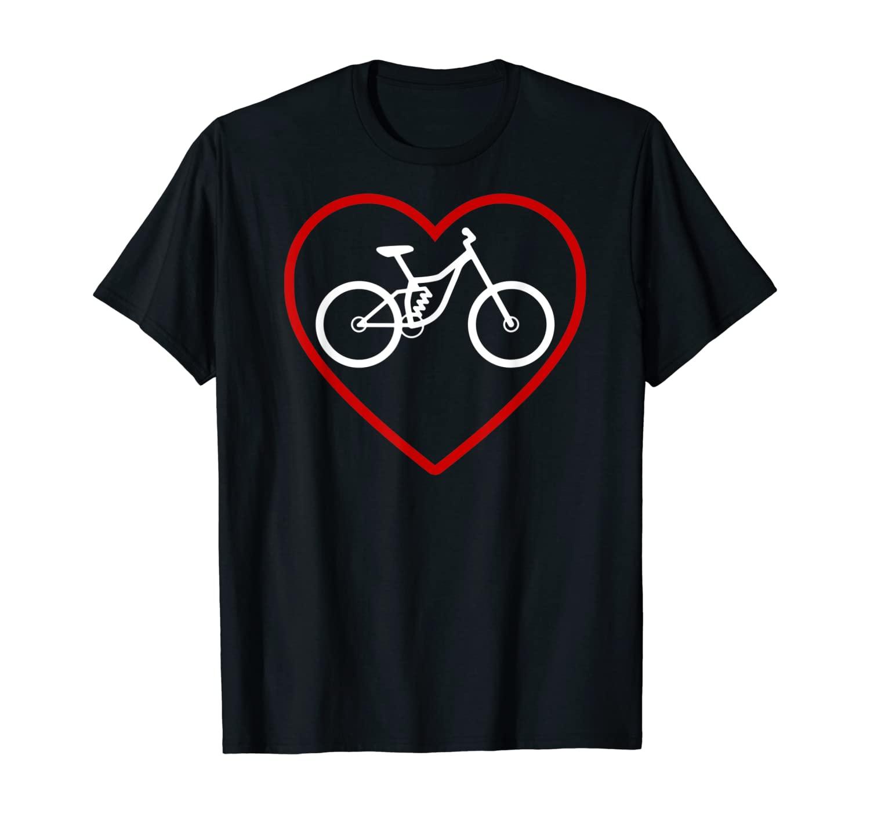 I Love Mountain Bikes MTB Love Mountain Bike T-Shirt