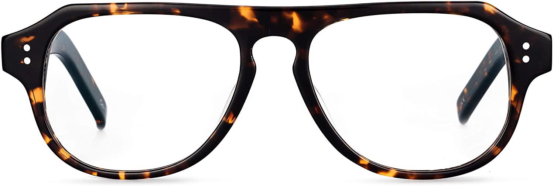 Boca Blu Olympus Blue Light Blocking Glasses UV Light Anti Glare Eyestrain Protection Computer Gaming and Reading Glasses for Men/Women