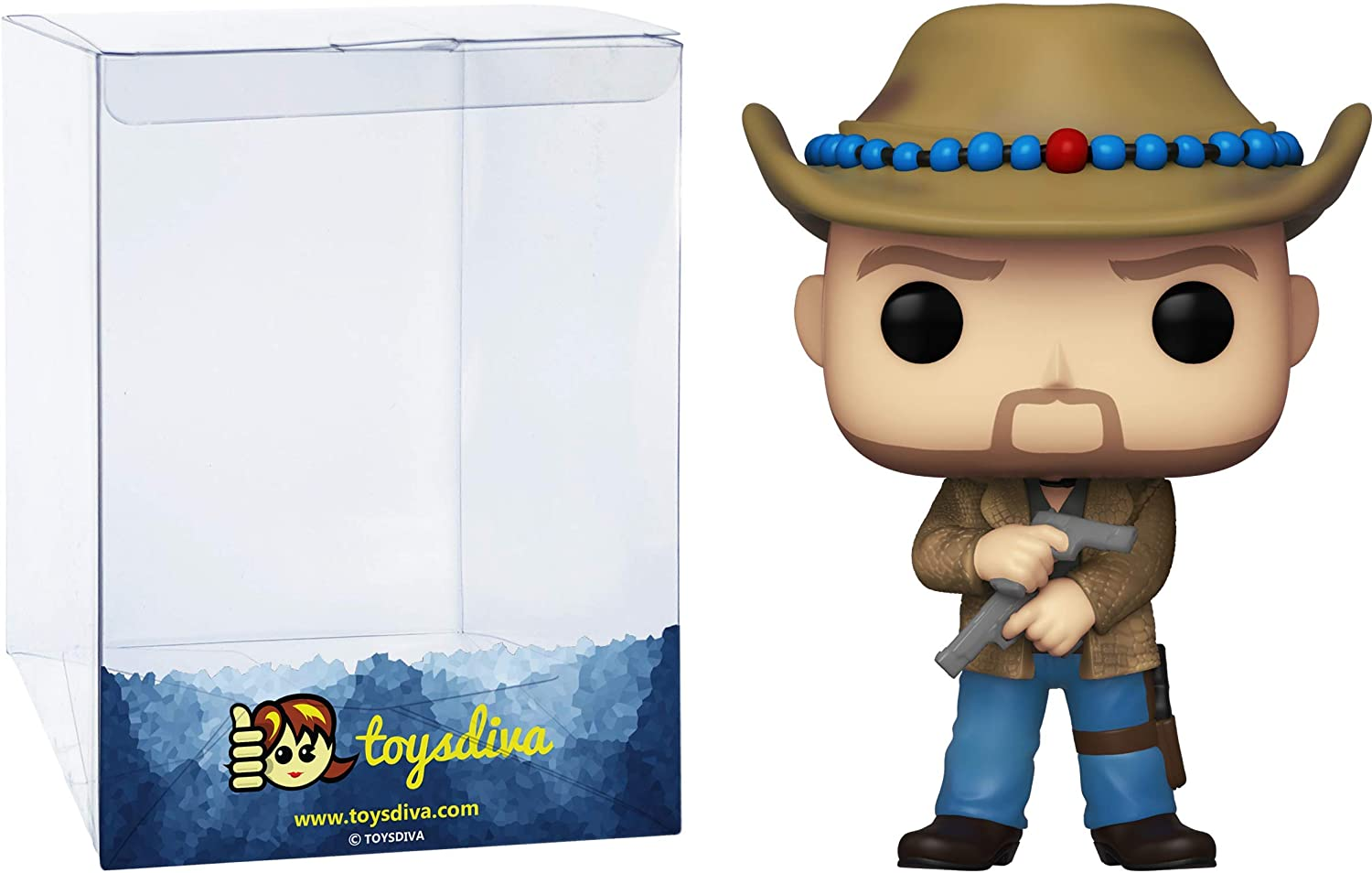 Tallahassee: Funko Pop! Movies Vinyl Figure Bundle with 1 Compatible 'ToysDiva' Graphic Protector (997 - 49100 - B)