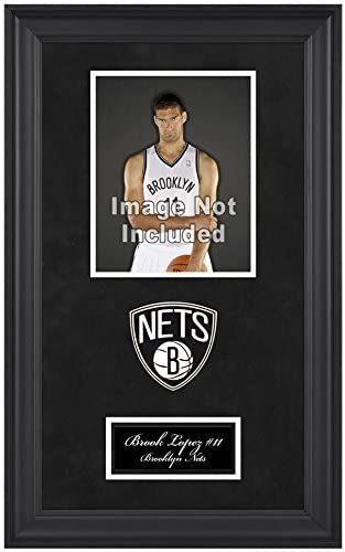 Brooklyn Nets Deluxe 8 x 10 Team Logo Frame - Basketball Other Display Cases
