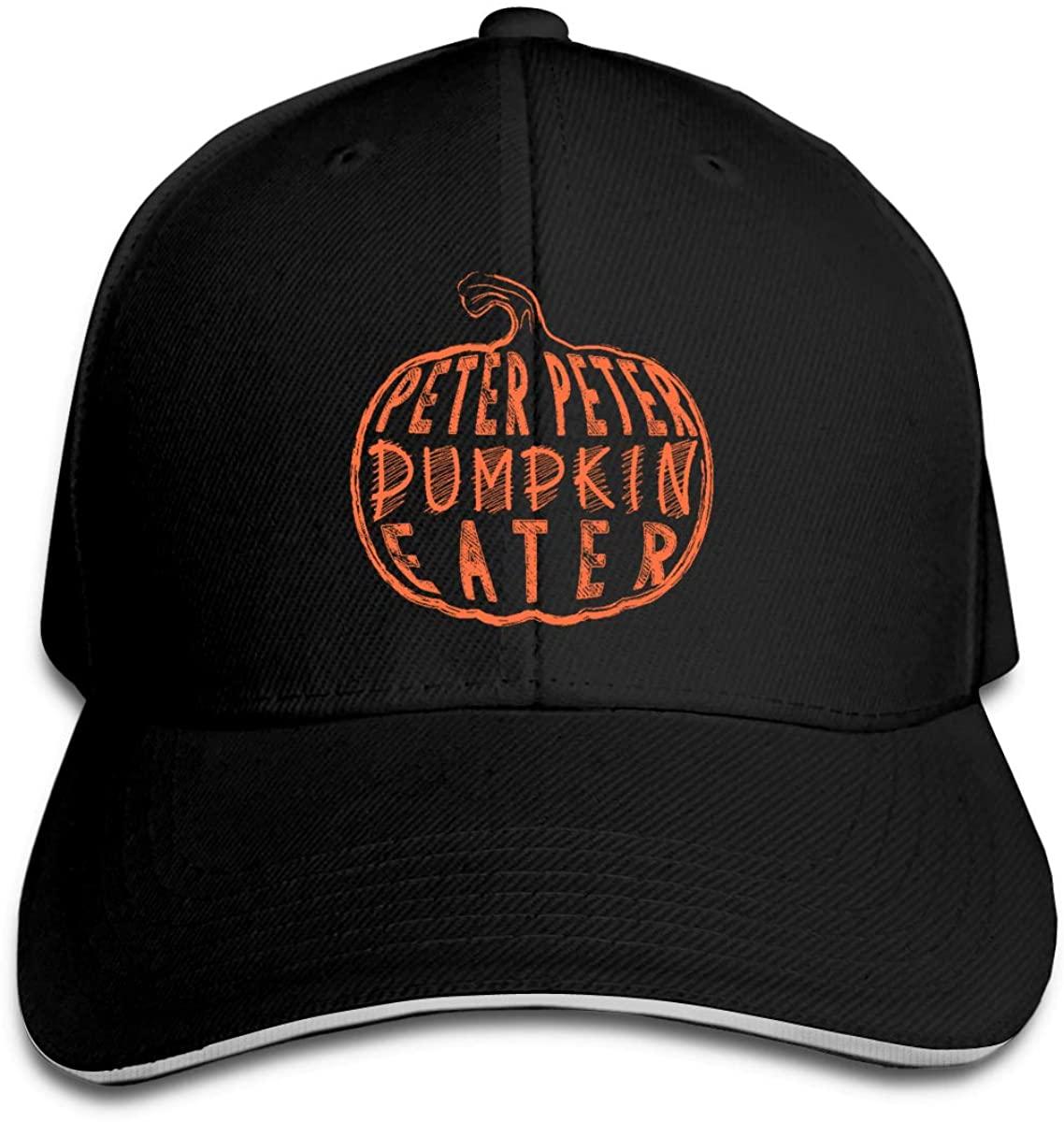 Peter Peter Pumpkin Eater Costume for Halloween Unisex Cap Hat