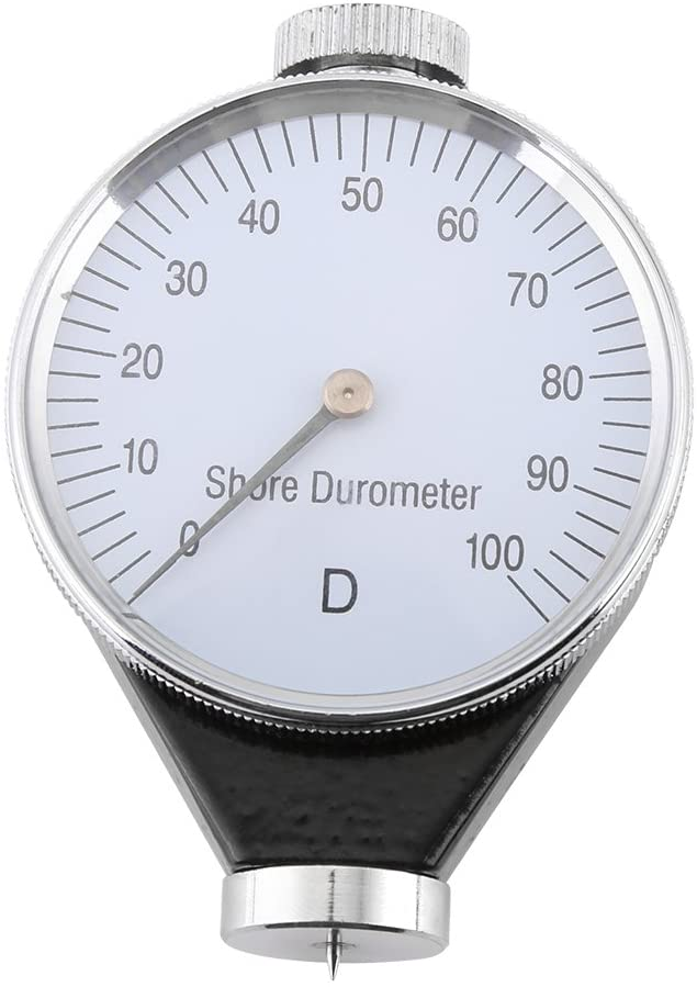 Nikou Tire Durometer - Rubber Tire Durometer Shore Type A/O/D Rubber Tire Durometer Hardness Tester Meter 0-100 HA (D)