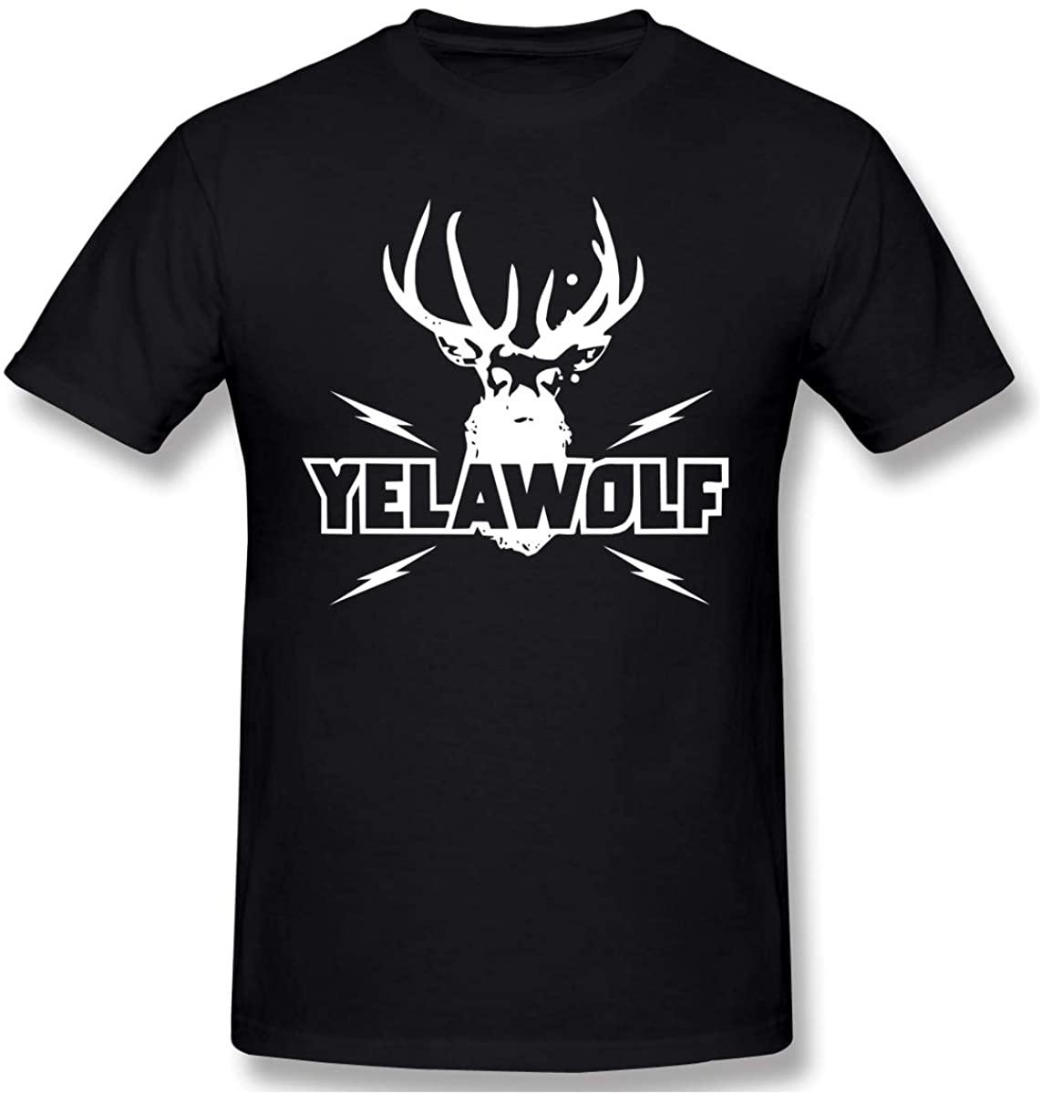 Milarois Mens Print Yelawolf Logo T-Shirt