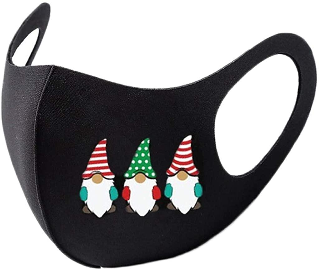 Christmas Face_Masks,Reusable Washable Face Protection Outdoor Dust Face Bandanas for Women Men