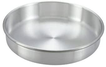 Winco ACP-093 Layer Cake Pan, 9 X 3-In, Aluminum - Round Cake Pans-ACP-093