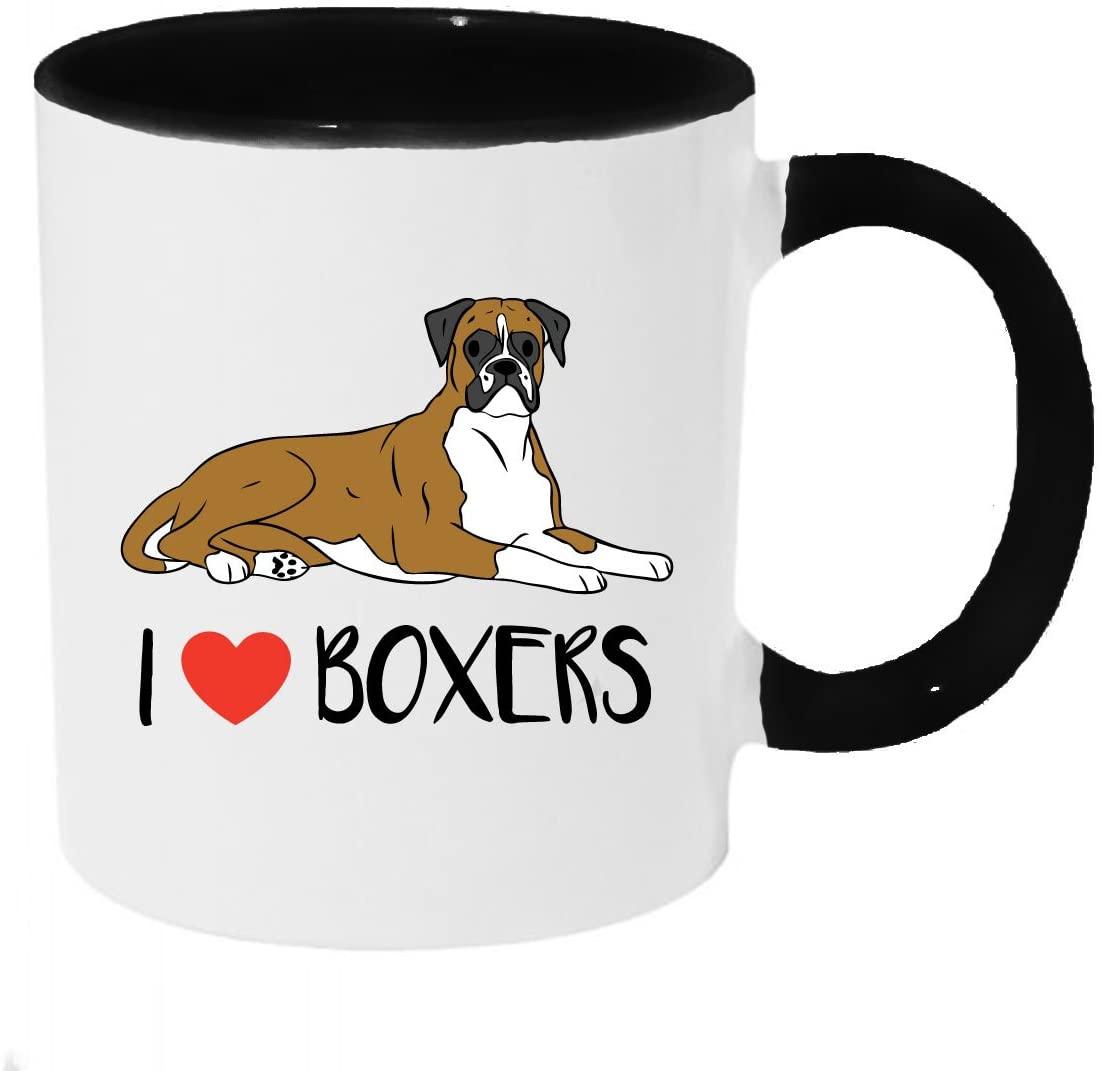 I Heart Boxers Coffee or Tea 11oz Mug