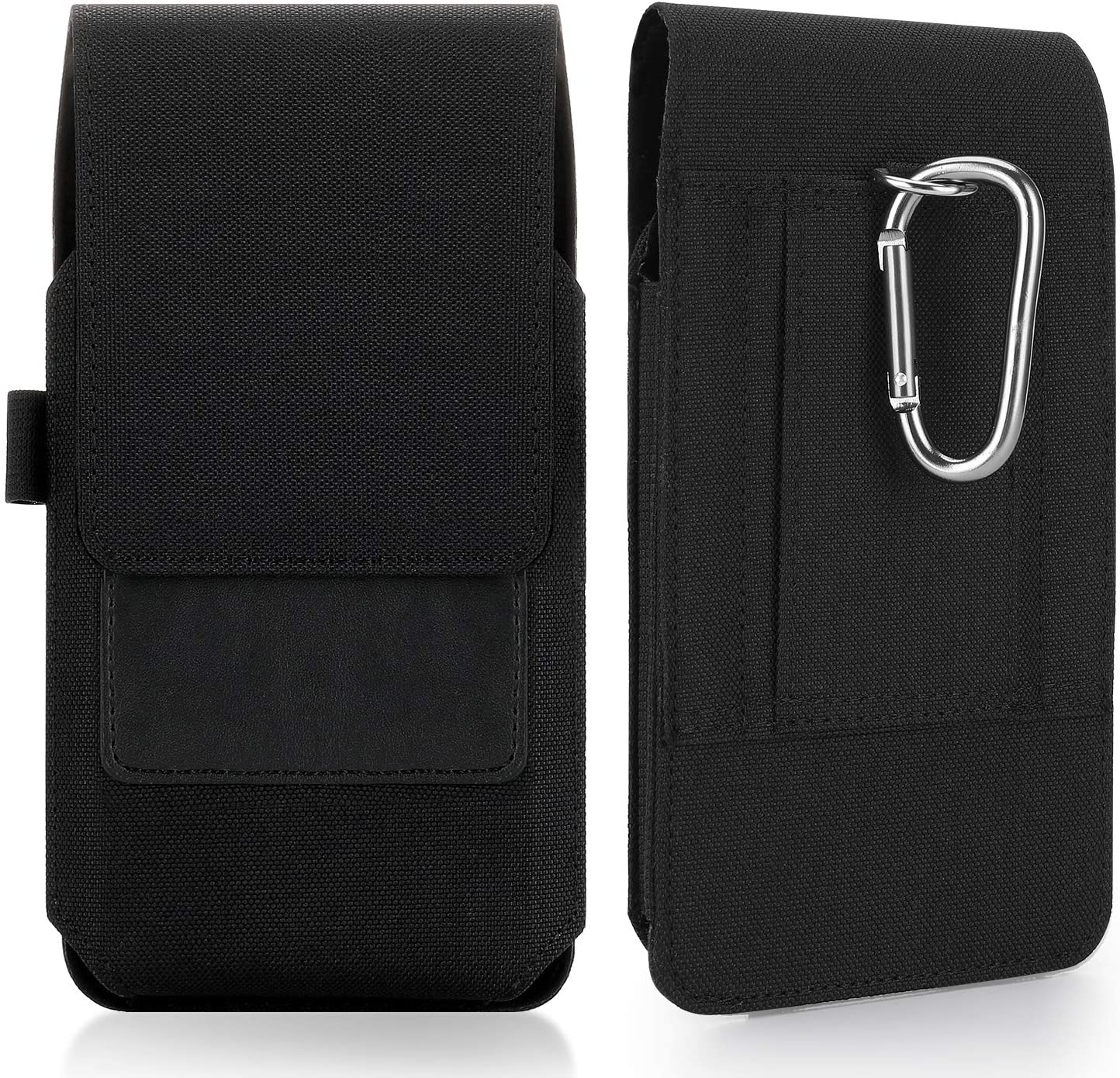 Mopaclle Galaxy S20 FE 5G Holster Case, Nylon Galaxy S20 + Plus Belt Case with Clip/Loops Carrying Pouch Holder for Samsung Galaxy Note 8 9 10/ Note 20 Ultra (Fit w/Thin Case on) Black