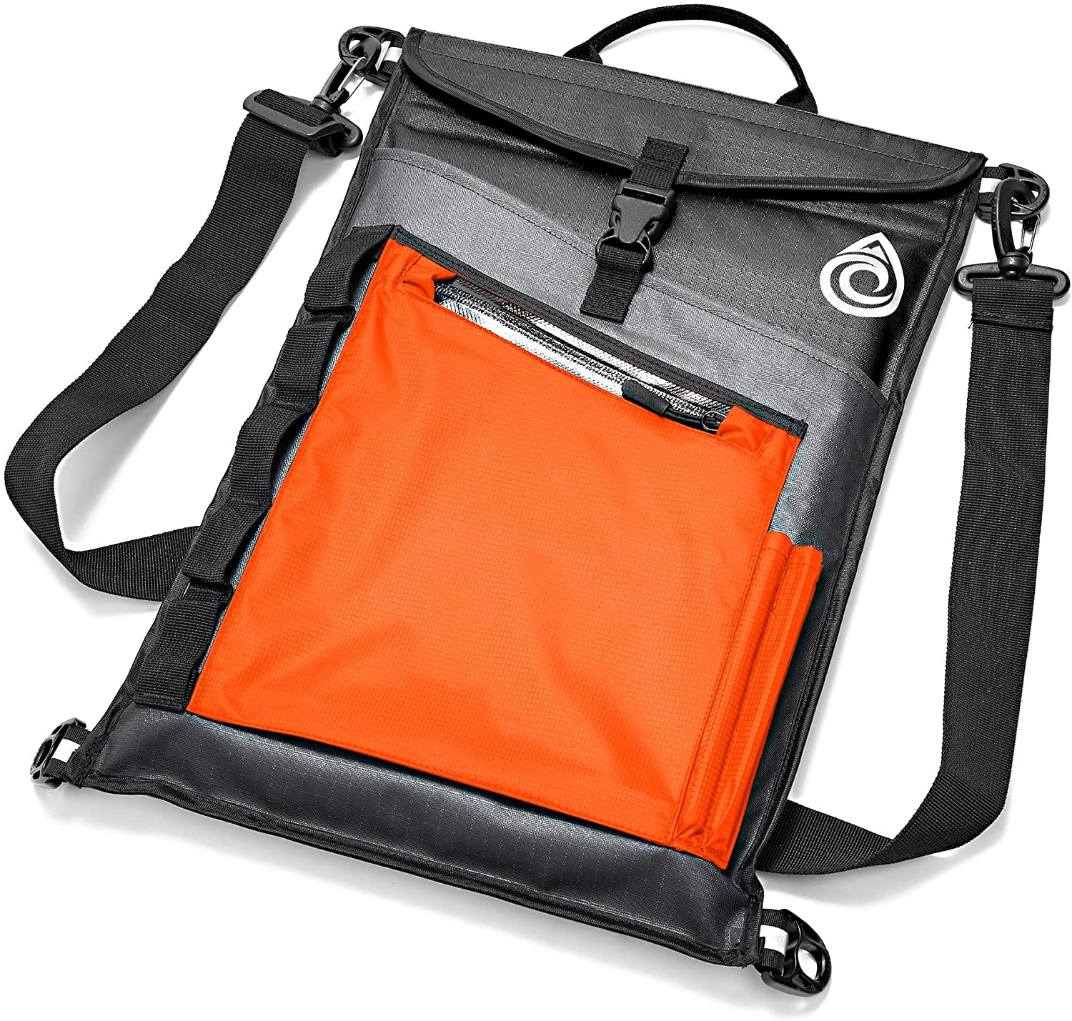 AquaQuest Typhoon Laptop Case - 100% Waterproof, Versatile, Durable, Lightweight, Compact Messenger Bag - Protective Padded Computer Sleeve Pouch Cover - 13
