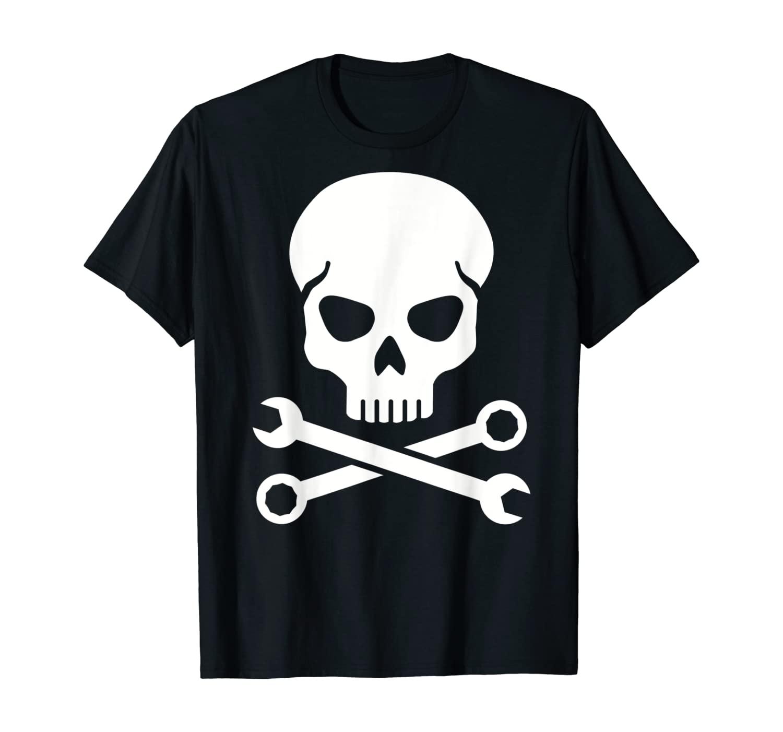 Mechanic skull T-Shirt