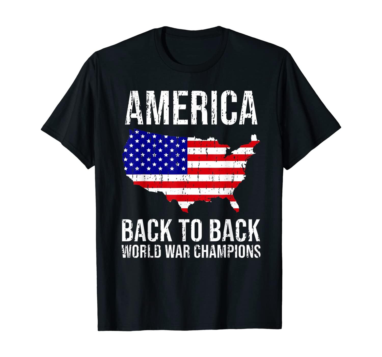 Funny USA T Shirt US Flag Tee Patriodic 4th Of July America T-Shirt