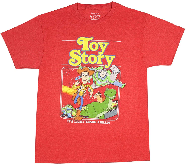 Disney Pixar Men's Toy Story It's Light Years Ahead! Graphic T-Shirt