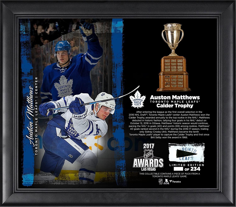 Auston Matthews Toronto Maple Leafs Framed 15