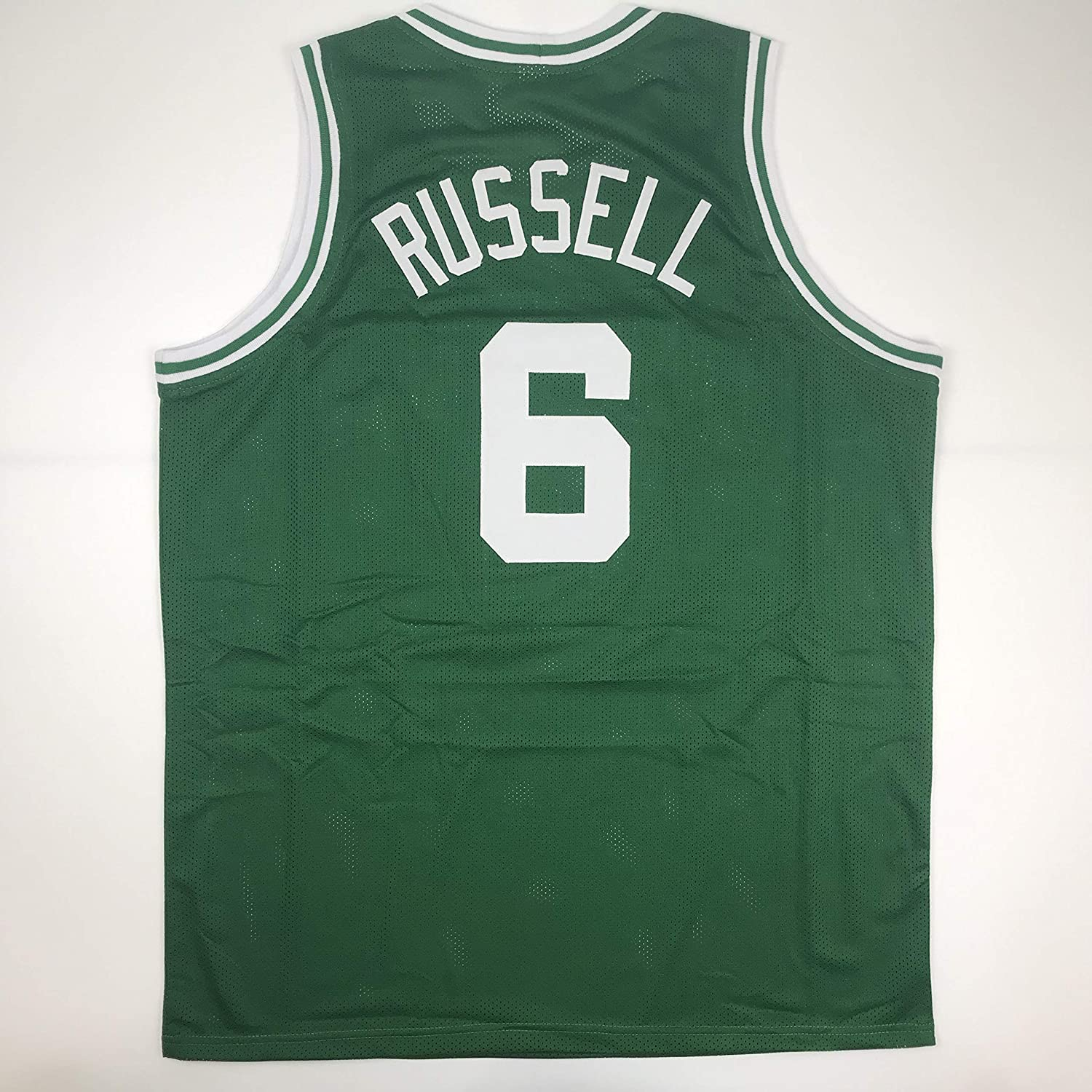 Unsigned Bill Russell Boston Green Custom Stitched Basketball Jersey Size Mens XL New No Brands/Logos