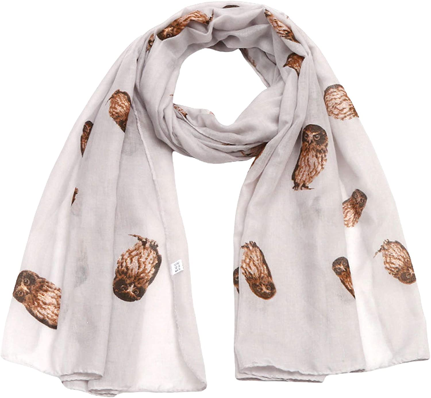LaVieLente Fashion Scarf for Women Lightweight Floral, Animal Print Graphic Spring Fall Shawl Wraps