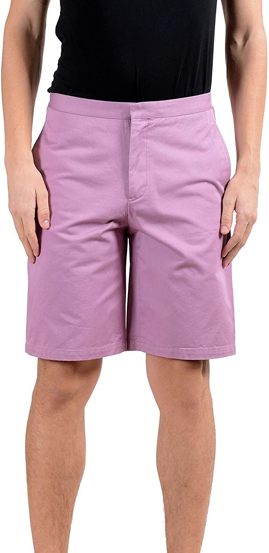Versace Men's Purple Casual Shorts Size US 32 IT 48