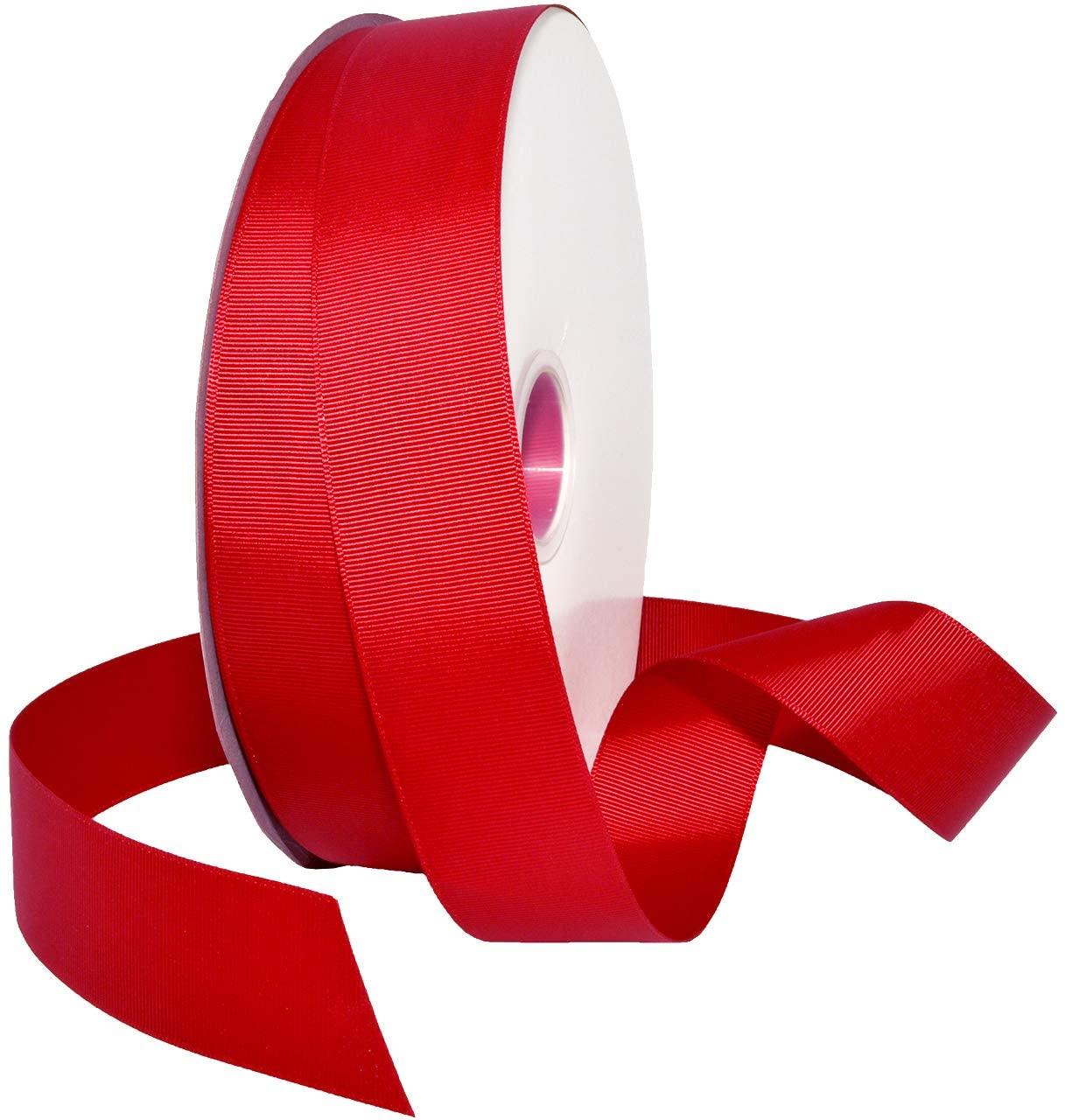 Morex Grosgrain Ribbon Grosgrain Ribbon, Ruby