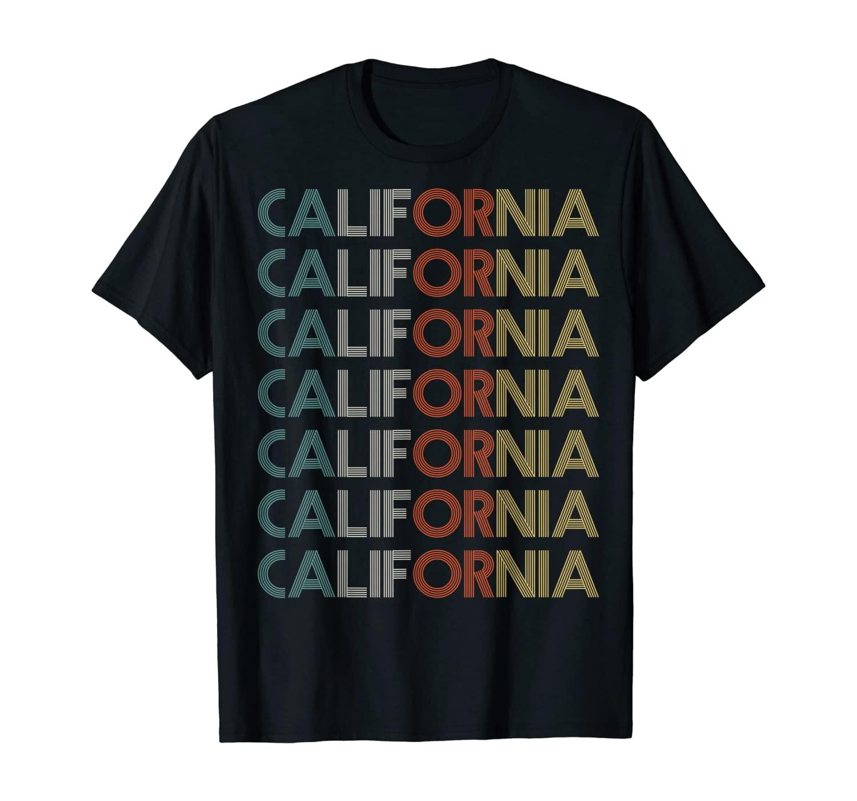 California Travel Souvenir Retro T-Shirt