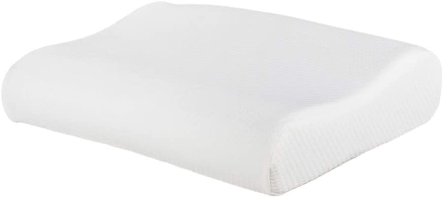 Festnight Gel Particle Memory Foam Pillow Cotton High and Low Profile Cooling Pillow Soft Cervical Support Bed Pillow with Removable Pillowcase for Side Back Sleepers,Snoring,Migraine,Neck Pain