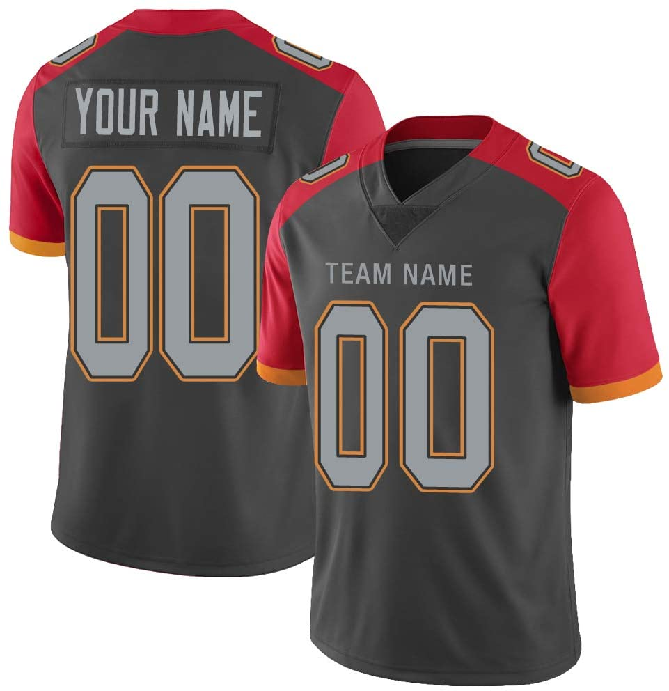 LOSER Customize ootball Jersey Design Stitched 32 Team Name & Number S-6XL Custom Jerseys for Men_Women_Kids Gifts