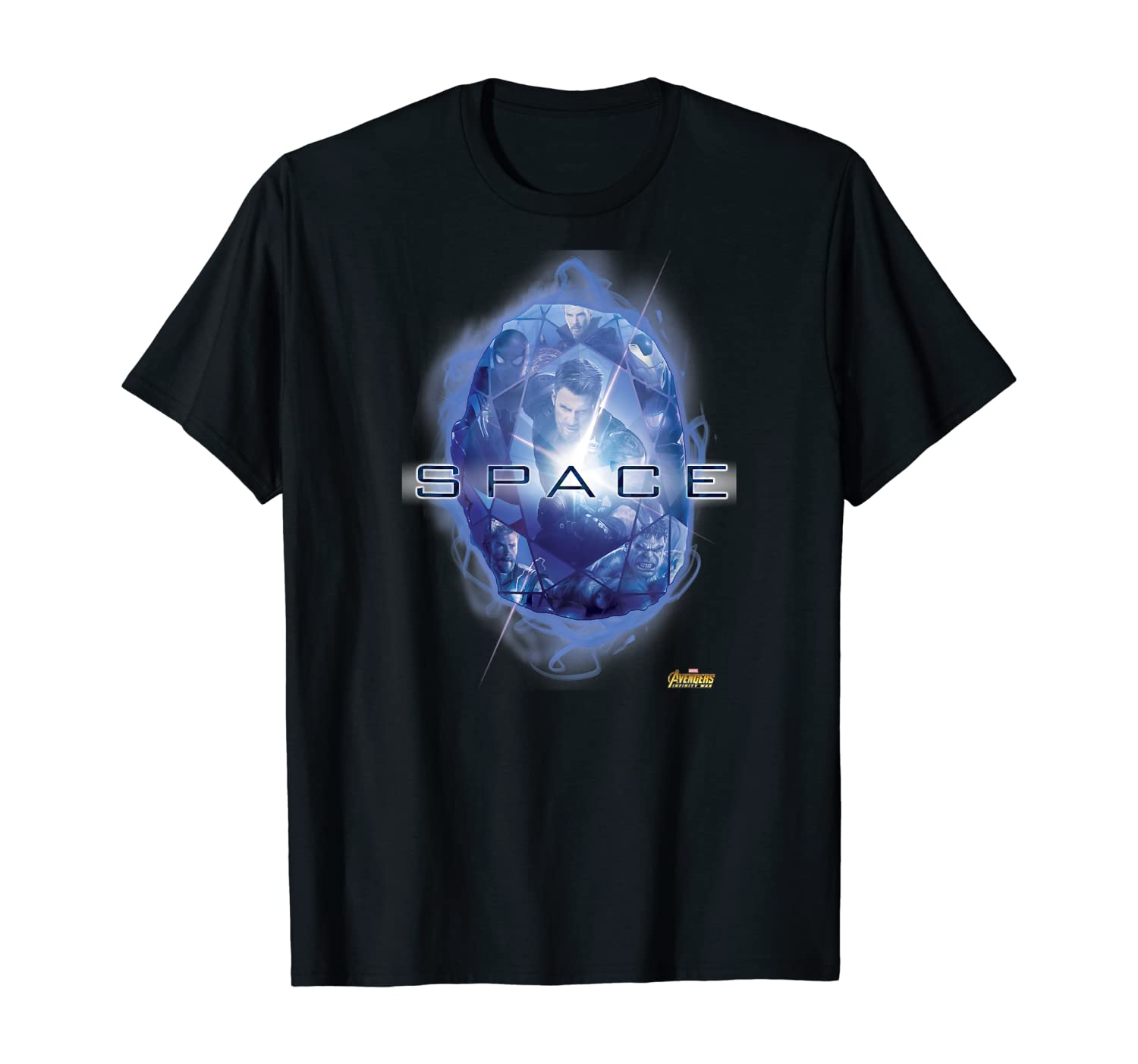 Marvel Infinity War The Blue Space Stone Graphic T-Shirt