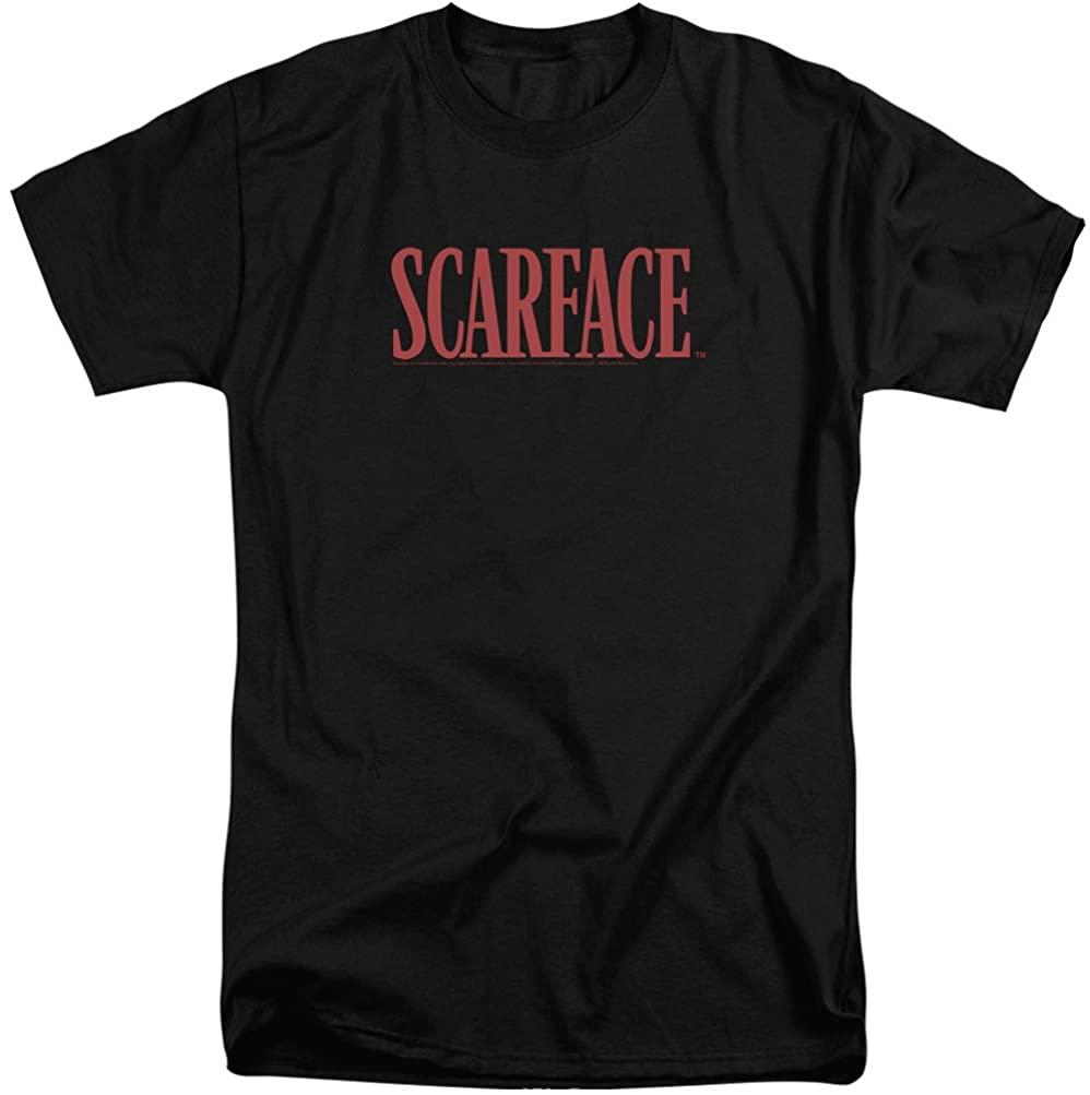 A&E Designs Scarface Shirt Movie Logo Tall T-Shirt